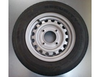 "13"" Wheel with 145/80 x 13 Tyre 115mm PCD"