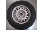 "13"" Wheel with 155 x 13 Tyre 100mm PCD"