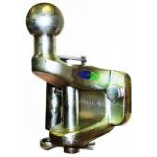 """Universal Combined 50mm Towball Hitch and 1/"""" Pin /& Jaw Coupling Tow ball"""