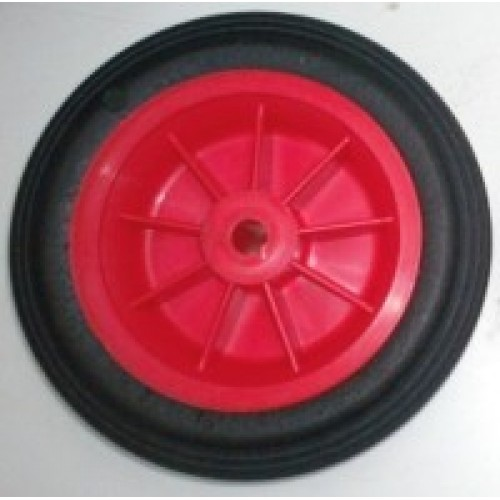 7 Quot 180mm Plastic Wheel With 1 2 Quot 12mm Bore Red