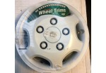 "14"" Wheel Trims White Pair"
