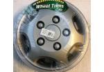 """14"""" Wheel Trims Silver Pair"""