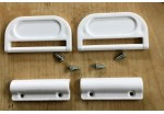 Ellbee Plastic Shower Door Handles
