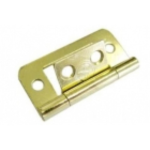 Hinges And Cupboard Stays Flush Hinge Brass Finish