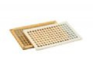 "Grille Vent 6.75"" x 3.50"" Beige"