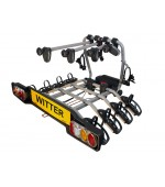 Witter Towball Mounted 4 Bike Carrier ZX412