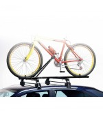 Summit single bike carrier for roof bars, trailer load rails & Bak-Rak