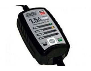 Maypole 12V Smart Battery Charger 1.5 amp