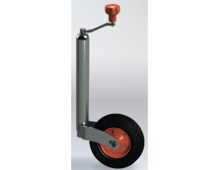 48mm Kartt Orange Premium Medium Duty Jockey with Metal Wheel & Turn-lok