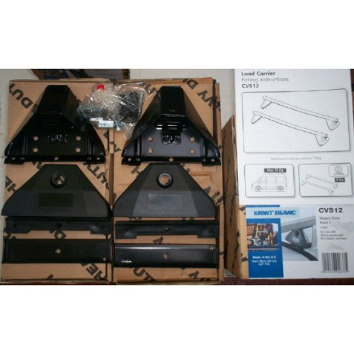 Commercial Vehicle Roof Bar Mounting Kit For Vehicles With
