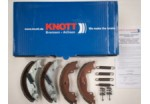 Knott 160 x 35 Mk3 Auto Reverse Brake Shoes