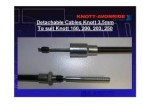 Knott Auto-Reverse Brake Cables Threaded End
