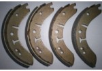 "Lockheed 8"" Standard Brake Shoes Axle Set"