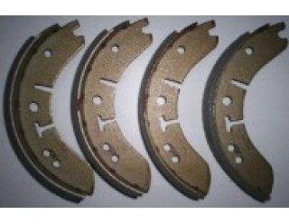 "Lockheed 8"" Standard Brake Shoes Axle Set"