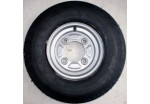 "8"" Wheel & Tyre with 115mm PCD"