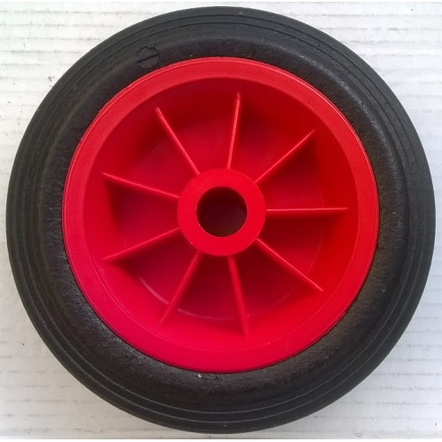 7 Quot 180mm Plastic Wheel With 20mm Bore Red