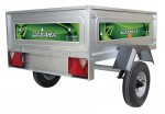 Daxara 127 Trailer 1250 x 970 x 410mm