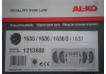 Alko Brake Shoes 160 x 35 for 1635/1636/1637 Drums