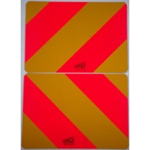 Type 7 Rear Marker Plates Lgv Hgv Trailer